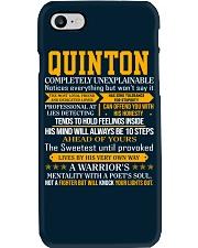 Quinton - Completely Unexplainable Phone Case thumbnail
