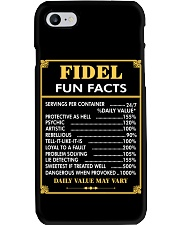 Fidel fun facts Phone Case thumbnail