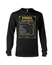 Fidel fun facts Long Sleeve Tee thumbnail