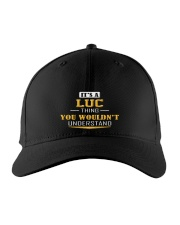 LUC - THING YOU WOULDNT UNDERSTAND Embroidered Hat front
