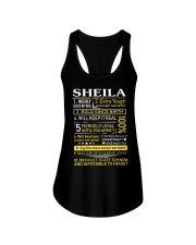 Sheila - Sweet Heart And Warrior Ladies Flowy Tank thumbnail