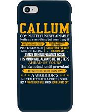 Callum - Completely Unexplainable Phone Case thumbnail