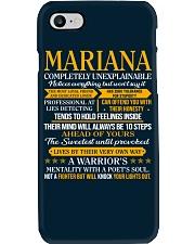 MARIANA - COMPLETELY UNEXPLAINABLE Phone Case thumbnail
