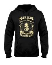 PRINCESS AND WARRIOR - Marisol Hooded Sweatshirt thumbnail