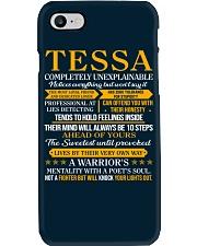 TESSA - COMPLETELY UNEXPLAINABLE Phone Case thumbnail