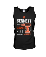 If Bennett Cant Fix It - We Are All Screwed  Unisex Tank thumbnail