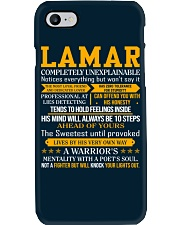 Lamar - Completely Unexplainable Phone Case thumbnail