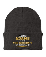 ADAMS - Thing You Wouldnt Understand Knit Beanie front