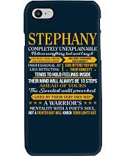 STEPHANY - COMPLETELY UNEXPLAINABLE Phone Case thumbnail