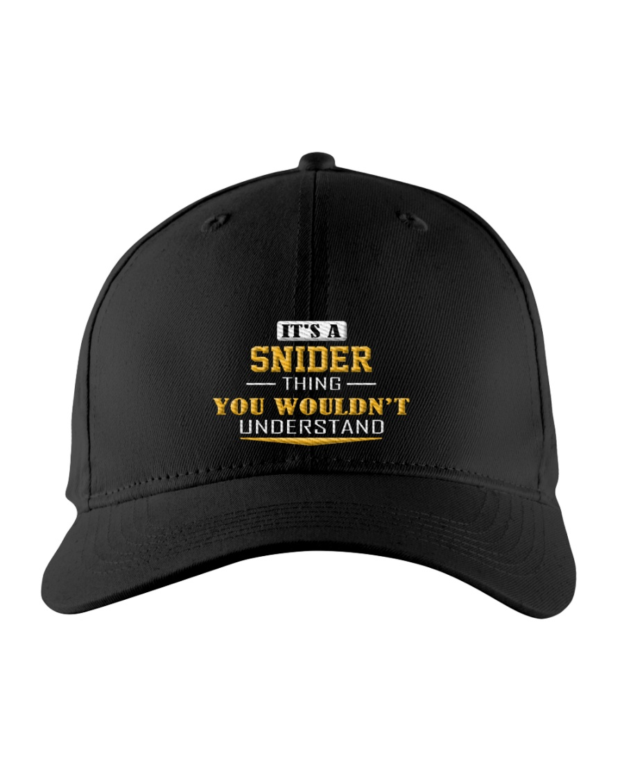 SNIDER - Thing You Wouldnt Understand Embroidered Hat