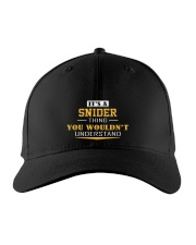 SNIDER - Thing You Wouldnt Understand Embroidered Hat front