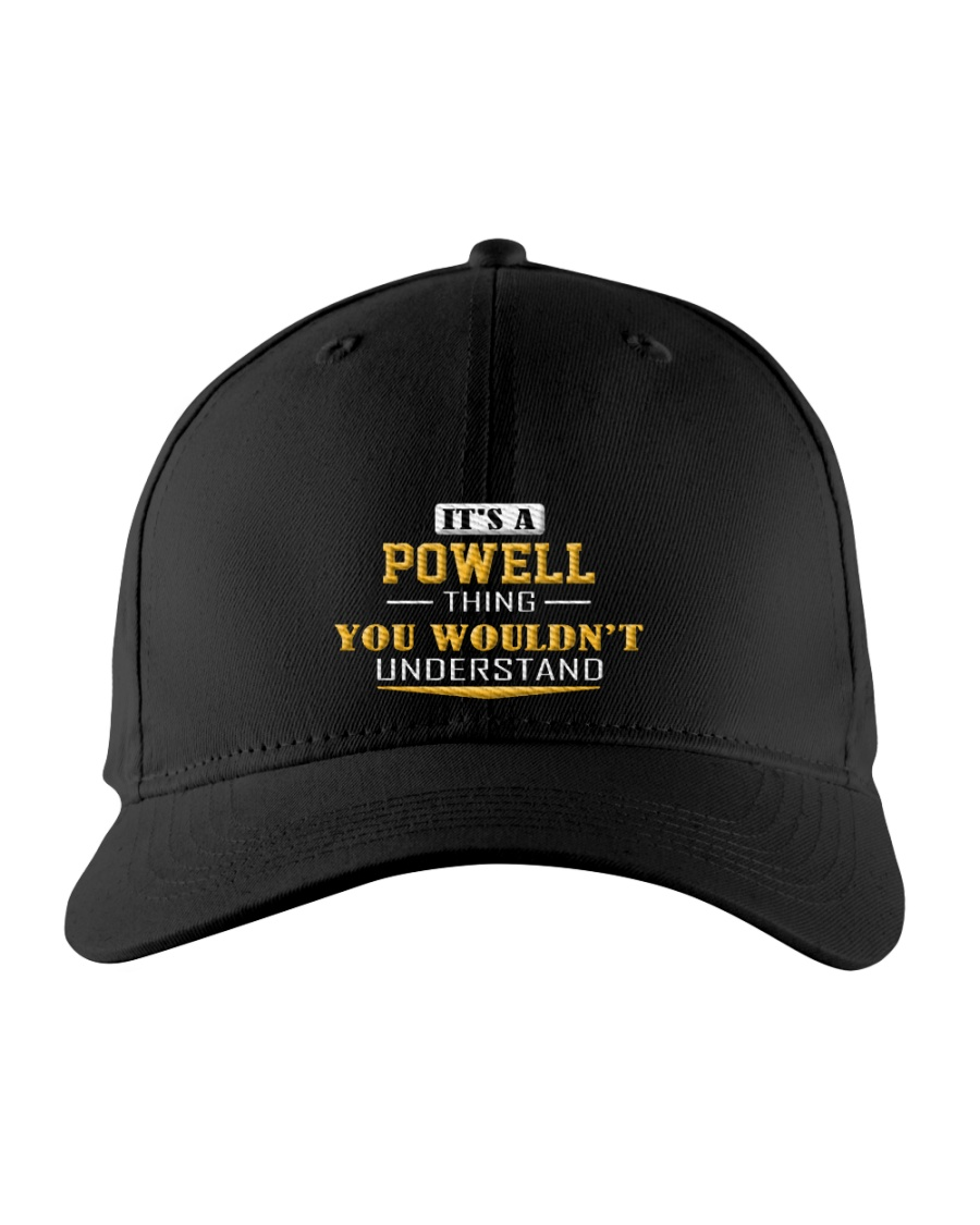 POWELL - Thing You Wouldnt Understand Embroidered Hat