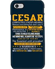 Cesar - Completely Unexplainable Phone Case thumbnail
