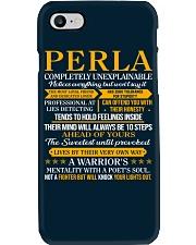 PERLA - COMPLETELY UNEXPLAINABLE Phone Case thumbnail
