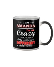 Amanda - My reality is just different than yours Color Changing Mug thumbnail