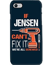 If Jensen Cant Fix It - We Are All Screwed Phone Case thumbnail