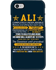 Ali - Completely Unexplainable Phone Case tile