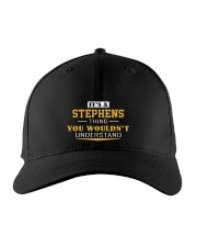 STEPHENS - Thing You Wouldnt Understand Embroidered Hat front