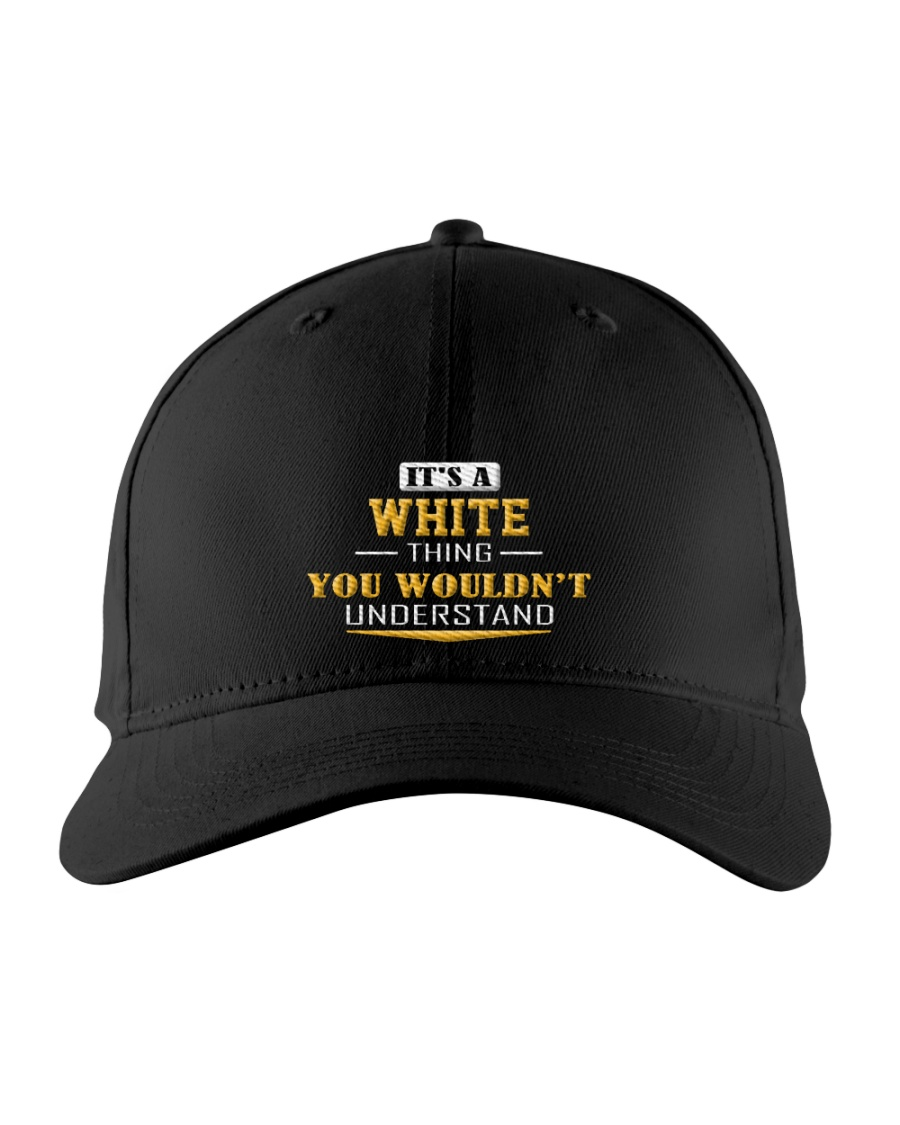 WHITE - Thing You Wouldnt Understand Embroidered Hat