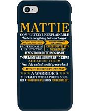 MATTIE - COMPLETELY UNEXPLAINABLE Phone Case thumbnail
