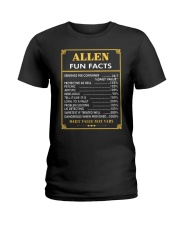 Allen fun facts Ladies T-Shirt thumbnail
