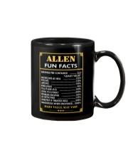 Allen fun facts Mug thumbnail