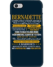 BERNADETTE - COMPLETELY UNEXPLAINABLE Phone Case thumbnail