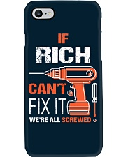 If Rich Cant Fix It - We Are All Screwed Phone Case thumbnail