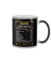 Zane fun facts Color Changing Mug thumbnail