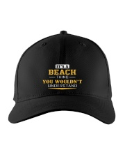 BEACH - Thing You Wouldnt Understand Embroidered Hat front