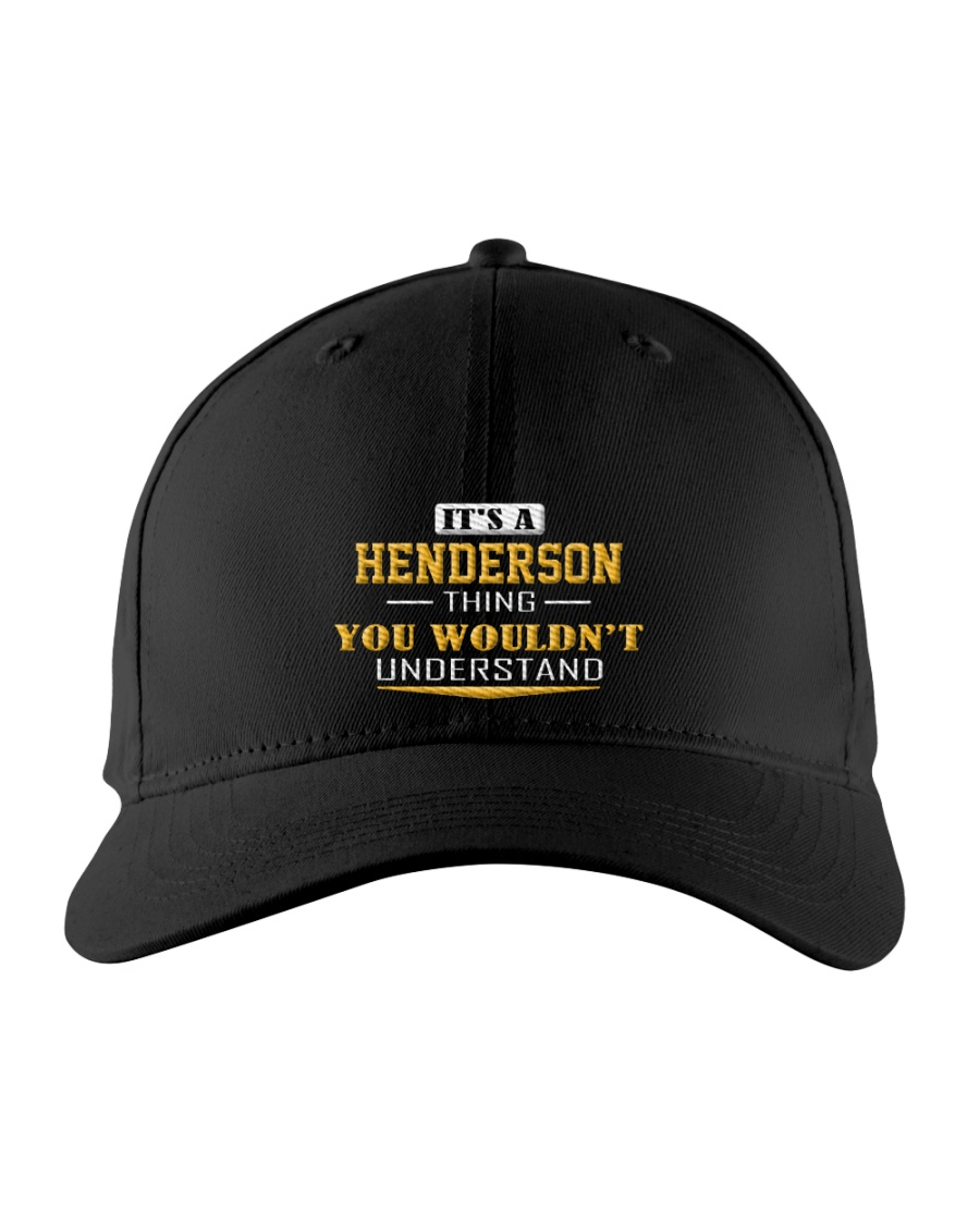 HENDERSON - Thing You Wouldnt Understand Embroidered Hat
