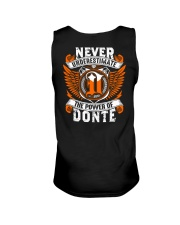 NEVER UNDERESTIMATE THE POWER OF DONTE Unisex Tank thumbnail