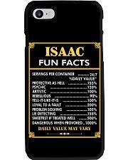 Isaac fun facts Phone Case thumbnail