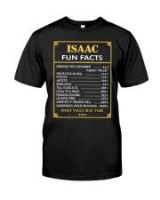 Isaac fun facts Classic T-Shirt front