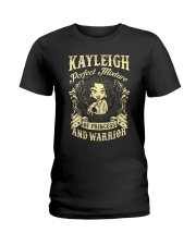 PRINCESS AND WARRIOR - KAYLEIGH Ladies T-Shirt front