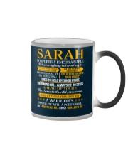 SARAH - COMPLETELY UNEXPLAINABLE Color Changing Mug thumbnail