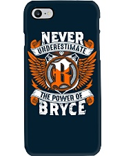 NEVER UNDERESTIMATE THE POWER OF BRYCE Phone Case thumbnail