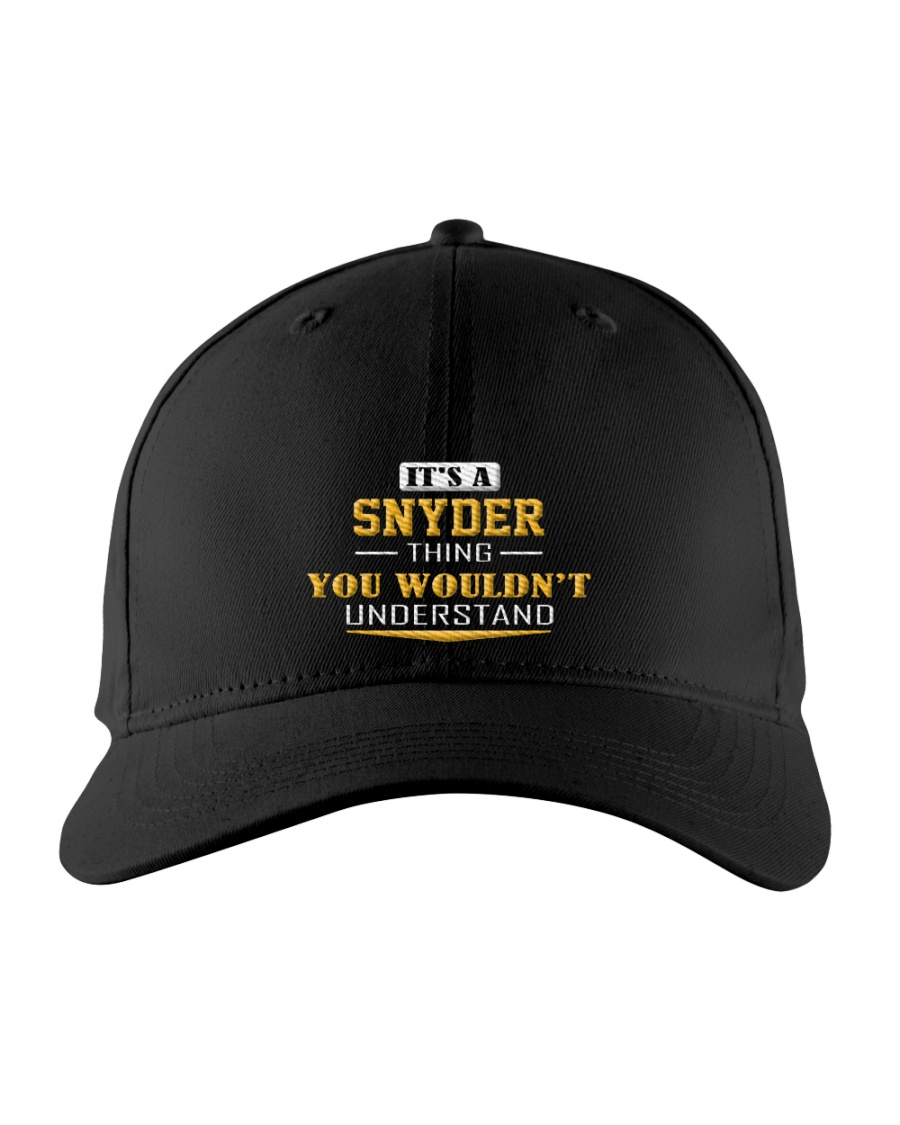 SNYDER - Thing You Wouldnt Understand Embroidered Hat