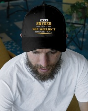 SNYDER - Thing You Wouldnt Understand Embroidered Hat garment-embroidery-hat-lifestyle-06