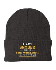 SNYDER - Thing You Wouldnt Understand Knit Beanie thumbnail