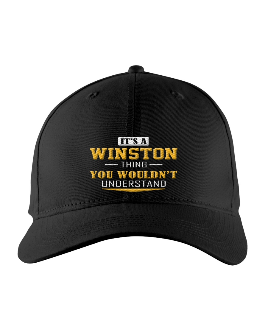 WINSTON - THING YOU WOULDNT UNDERSTAND Embroidered Hat