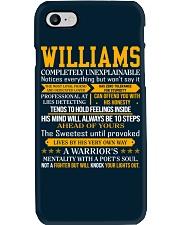 Williams - Completely Unexplainable Phone Case thumbnail