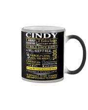 Cindy - Sweet Heart And Warrior Color Changing Mug thumbnail