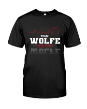 WOLFE - Team DS02 Classic T-Shirt front