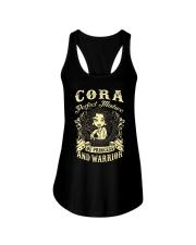 PRINCESS AND WARRIOR - CORA Ladies Flowy Tank thumbnail