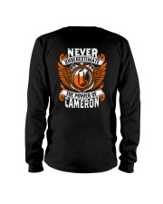 NEVER UNDERESTIMATE THE POWER OF CAMERON Long Sleeve Tee thumbnail