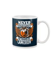 NEVER UNDERESTIMATE THE POWER OF CAMERON Mug thumbnail