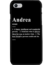 Andrea - Definition Phone Case thumbnail