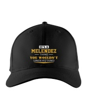 MELENDEZ - Thing You Wouldnt Understand Embroidered Hat front