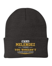MELENDEZ - Thing You Wouldnt Understand Knit Beanie tile